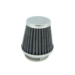 Tapered Chrome Pod Air Filter - 60 mm