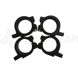 Fork Clamp brackets Set 43 MM - Black