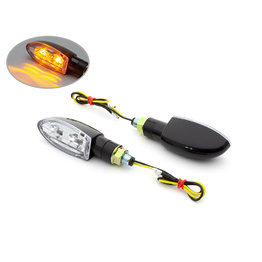 Black Dual LED Indicators