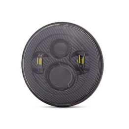 "7"" LED Projector Headlight Insert - Carbon"