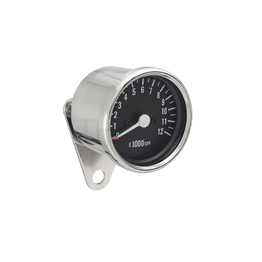 Motorcycle Tachometer - Chrome
