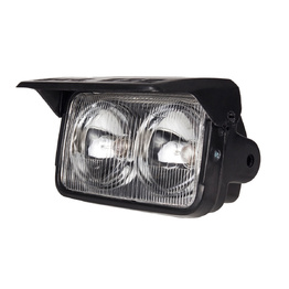 Dual Beam Headlight with Shield