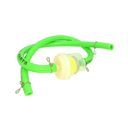 Fuel Line with Filter - Bright Green