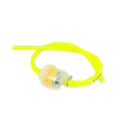 Fuel Line with Filter - Fluro Yellow