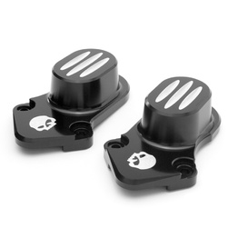 Sportster Rear Axle Covers - Black