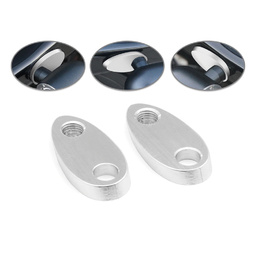 Rear Rail Indicator Spacers - Silver