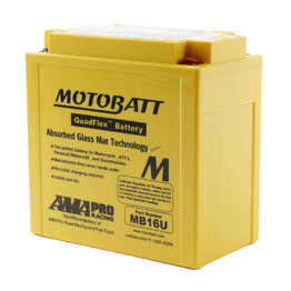 MB16U Motobatt Quadflex 12V Battery