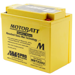MBTX20U Motobatt Quadflex 12V Battery