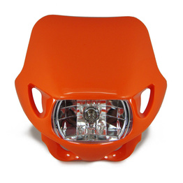 Halogen Motocross Headlight - Orange