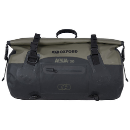 Oxford Aqua T30 Roll Bag - Black/ Khaki