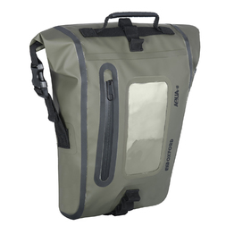 Oxford Aqua M8 Magnetic Tank Bag - Black/ Khaki
