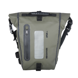 Oxford Aqua T8 Tail Pack - Black/ Khaki