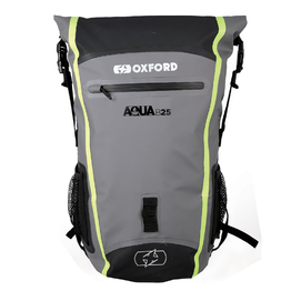Oxford Aqua B25 Backpack - Black/Grey/Fluro