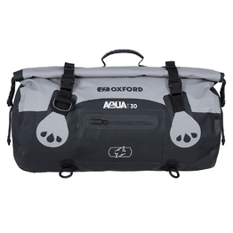 Oxford Aqua T30 Roll Bag - Black/Grey