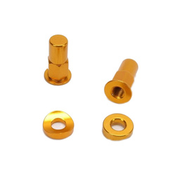 Rim Lock Kit - Gold