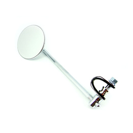 "10"" Chrome Angle Clamp On Mirror"