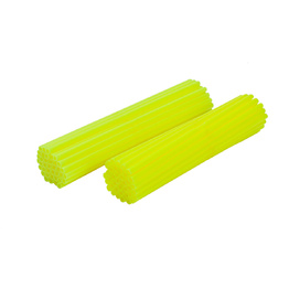Spoke Wraps - Fluro Yellow