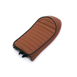 Motorcycle Seat - Cafe Racer Sportster Brown