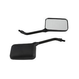 Matte Black Deluxe GP Motorcycle Mirrors