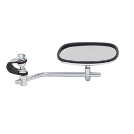 Devon Chrome Handle Bar Mount Mirror